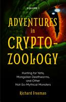Adventures in Cryptozoology PDF
