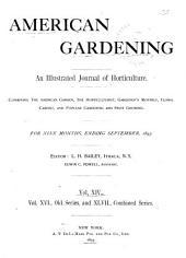 American Gardening: Volume 14