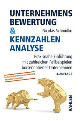 Unternehmensbewertung   Kennzahlenanalyse PDF