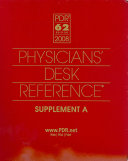 Physicians' Desk Reference 2008 Supplement A
