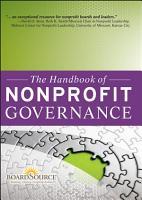 The Handbook of Nonprofit Governance PDF