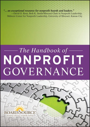 The Handbook of Nonprofit Governance PDF