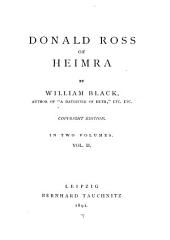 Donald Ross of Heimra: Volume 2