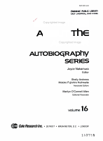 SATA Autobiography Series PDF