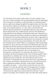 Origen Against Celsus Book 2