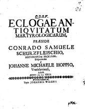 Eclogae antiquitatum martyrologic