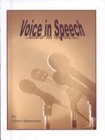 The Voice in Speech PDF