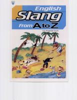 English Slang From A to Z 20K  PDF