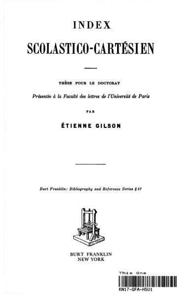 Download Index Scolastico Cartesien Book