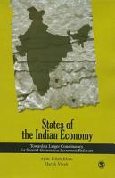 States of the Indian Economy PDF