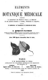 Éléments de botanique médicale