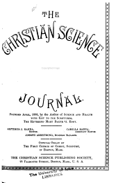 The Christian Science Journal: Volume 16