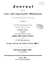 Journal für die reine und angewandte Mathematik: Band 65