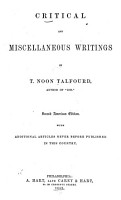 Critical and Miscellaneous Writings     PDF