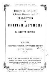 Dorothy Forster: Volume 1