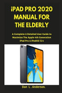 IPad Pro 2020 Manual for the Elderly