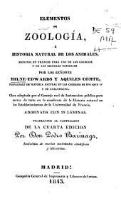 Elementos de Zoologia o Historia natural de los animales