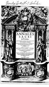 Annales sacri et profani: 1