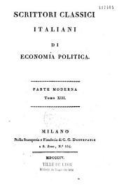Scrittori classici italiani di economia politica: parte moderna, supplemento, indice