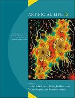Artificial Life IX PDF