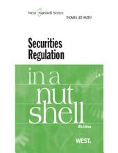 Securities Regulation in a Nutshell: Edition 10
