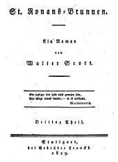 St. Ronans-Brunnen: ein Roman, Band 3