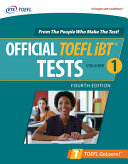 Official TOEFL iBT Tests Volume 1, Fourth Edition