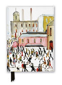 L.S. Lowry: Going to Work, 1959 (Foiled Journal)