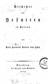 Geschichte der Jesuiten in Baiern
