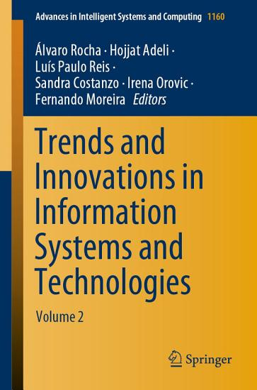 Trends and Innovations in Information Systems and Technologies PDF