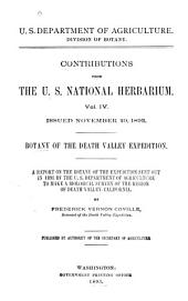 Contributions from the United States National Herbarium: Volume 4