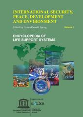 International Security, Peace, Development and Environment - Volume I