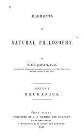 Elements of natural philosophy: Volume 1