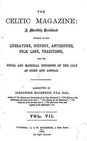 The Celtic Magazine PDF
