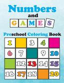 Numbers and Games, Preschool Coloring Book