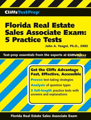CliffsTestPrep Florida Real Estate Sales Associate Exam  5 Practice Tests PDF
