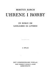 Uhrene i Rørby: en Roman om Kærlighed og Livsmod