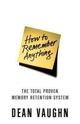 How To Remember Anything Book PDF