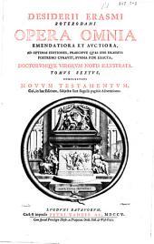 Desiderii Erasmi Roterodami Opera omnia: Volume 7