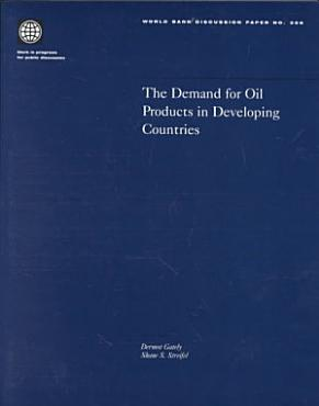 The Demand for Oil Products in Developing Countries PDF