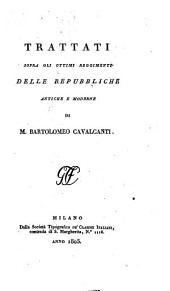 Trattati sopra gli ottimi reggimenti delle repubbliche antiche e moderne