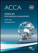 ACCA Paper F5  Performance Management PDF