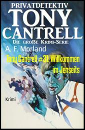 Tony Cantrell #31: Willkommen im Jenseits
