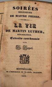 La vie de Martin Luther