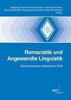 Romanistik und Angewandte Linguistik PDF