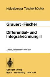 Differential- und Integralrechnung II: Differentialrechnung in mehreren Veränderlichen Differentialgleichungen, Ausgabe 2
