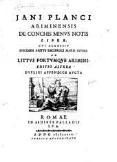 Jani Planci, Ariminensis: De conchis minus notis liber