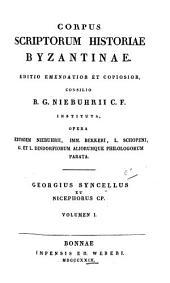 Corpus scriptorum historiae Byzantinae: Volume 6, Page 1