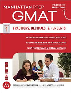 GMAT Fractions  Decimals    Percents Book