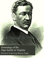 Genealogy of the Page Family in Virginia